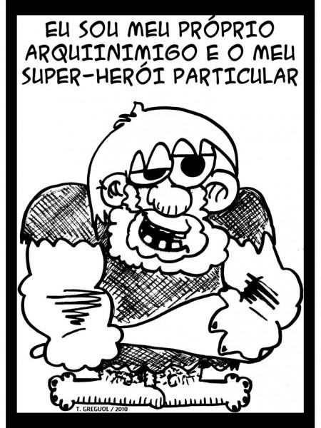 Eu Sou o Meu Arquiniimigo e o Meu Super-Herói Particular