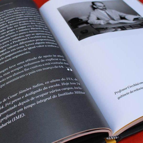 Livro de Marco Antônio Guglielmo Cecchini - Uma Vida Dedicada à Educação