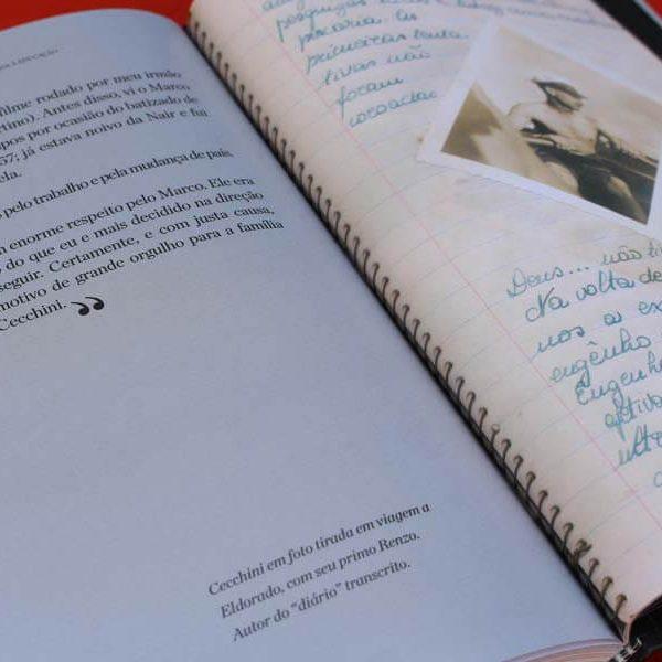 Livro Biográfico de Marco Antônio Guglielmo Cecchini - Uma Vida Dedicada à Educação