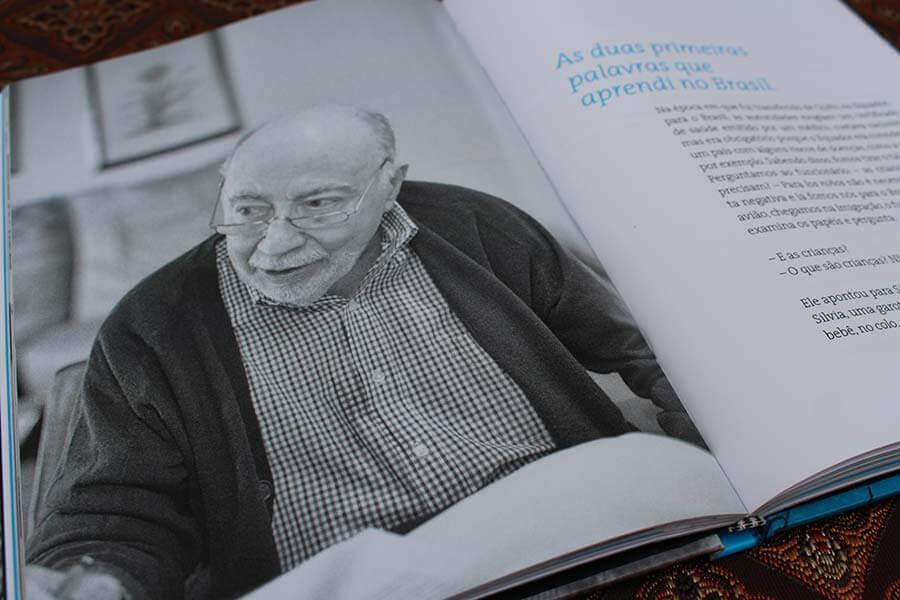Livro biográfico 'Outras Histórias' de Ruben Halaban