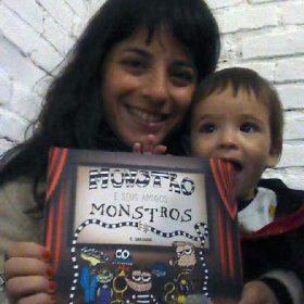 lançamento do livro 'Monstro e seus Amigos Monstros' de T Greguol